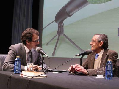 Íñigo Alfonso y Miguel Delibes de Castro en Memorias de la Fundación