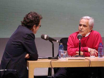 Íñigo Alfonso y Juan Cruz en Memorias de la Fundación
