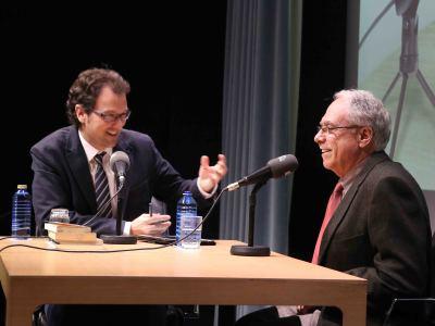 Íñigo Alfonso y Camilo Cela Conde en Memorias de la Fundación