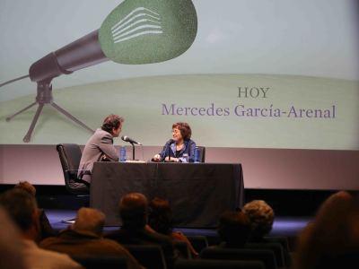 Íñigo Alfonso y Mercedes García-Arenal en Memorias de la Fundación