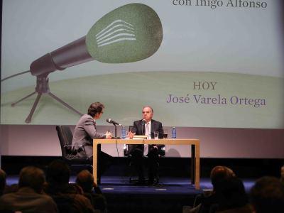 Íñigo Alfonso y José Varela Ortega en Memorias de la Fundación