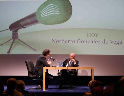Norberto González de Vega y Íñigo Alfonso en Memorias de la Fundación