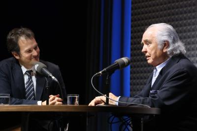 Íñigo Alfonso y Antón García Abril en Memorias de la Fundación