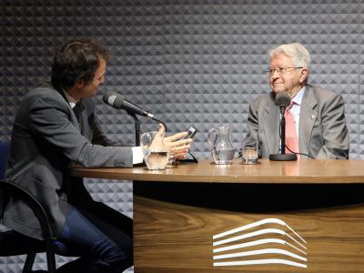 Íñigo Alfonso y Ángel Sánchez de la Torre en Memorias de la Fundación