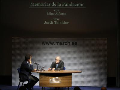 Íñigo Alfonso y Jordi Teixidor en Memorias de la Fundación