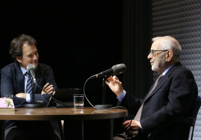 Íñigo Alfonso y Gregorio del Olmo en Memorias de la Fundación