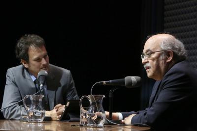 Íñigo Alfonso y Andreu Mas-Colell en Memorias de la Fundación