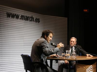 Íñigo Alfonso y Francisco Fernández-Longoria en Memorias de la Fundación