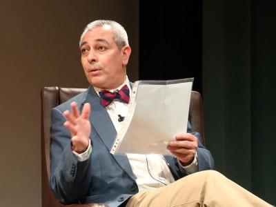 Jorge Eduardo Benavides. Conferencia sobre Jorge Edwards en diálogo con Eduardo Benavides