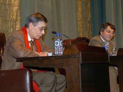 Carlos Pujol y Andrés Trapiello.
