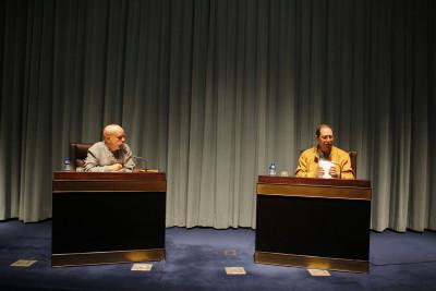 Jesús Ferrero y Santos Sanz Villanueva