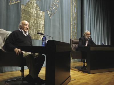 Manuel Vicent y Ángel S. Harguindey