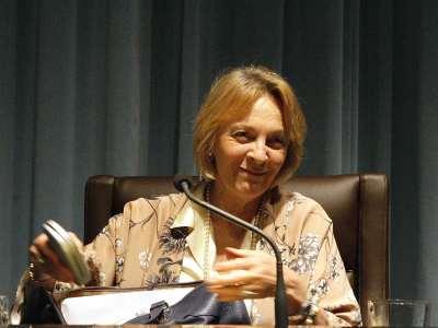 Soledad Puértolas. Conferencia sobre El fuego sagrado de la fabulación
