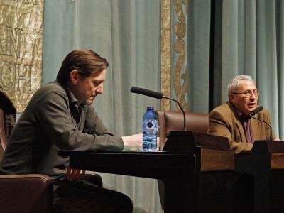 Ignacio Martínez de Pisón y José Mª Pozuelo Yvancos