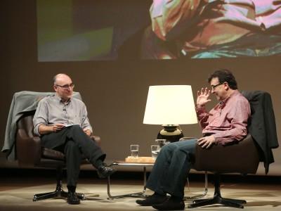 Domingo Ródenas y Javier Cercas