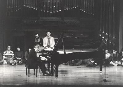 Alberto Giménez Atenelle. Concierto Música para una exposición Mondrian