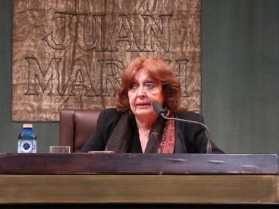 Cristina Fernández Cubas. Conferencia sobre La trastienda de la escritura