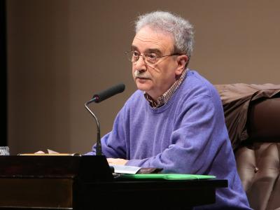 Manuel Longares. En conferencia sobre El secreto literario - Manuel Longares
