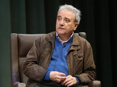 Manuel Longares. En conferencia sobre Manuel Longares en diálogo con Luis Mateo Díez