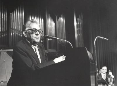 Goffredo Petrassi. Concierto Homenaje al compositor italiano Goffredo Petrassi