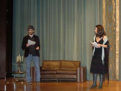 Jacobo Dicenta y Ana Pascual. Lectura dramatizada de un texto de Francisco Nieva