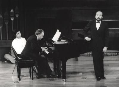 Miguel Zanetti y Manuel Cid. Concierto Goethe y la música