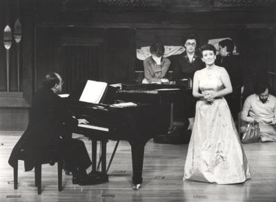 Félix Lavilla y Ana Higueras. Concierto Goethe y la música