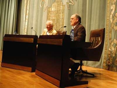 Albert Boadella y César Oliva.