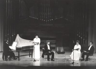 Cuarteto Tomás Luis de Victoria. Concierto Homenaje a Miguel Querol - Musicología hispánica tres maestros