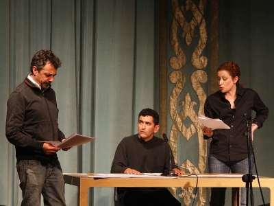 Pere Ponce, Juan Mayorga y Clara Sanchis. Lectura dramatizada