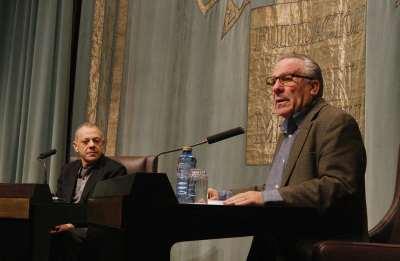 Lluis Pasqual y Luciano García Lorenzo