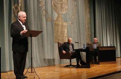 Juan Echanove, Lluis Pasqual y Luciano García Lorenzo