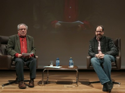 Luciano García Lorenzo y José María Pou