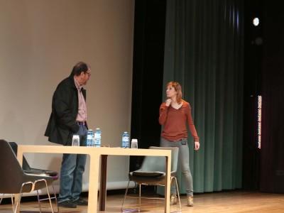 José María Pou y Nathalie Poza. Lectura dramatizada