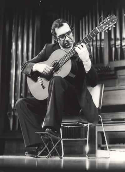 José Luis Rodrigo. Recital de guitarra