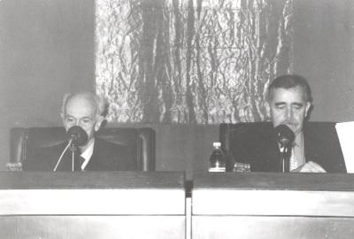 José Gómez Caffarena y Eugenio Trías. Mesa redonda Una interpretación filosófica de la religión - VI Seminario Público Pensar la religión