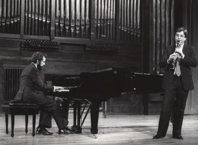 Josep Colom y Adolfo Garcés-Sauri. Recitales para Jóvenes