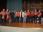 Grupo Cosmos, Aurora Aroca, Rubén Someso, Ignacio Jiménez de Urquía y Enrique Igoa. Concierto Vigésimo Aniversario del Grupo Cosmos 21 - Aula de (Re)estrenos (69)