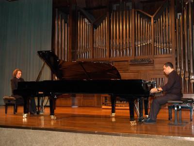 Fermín Bernetxea y Horacio Sánchez Anzola. Concierto En memoria de Pedro Espinosa - Aula de (Re)estrenos (71)