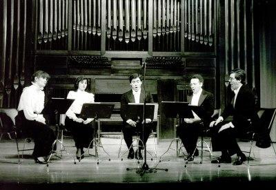 Madrigalistas de Madrid. Concierto Monteverdi