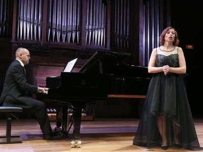 Anna Tonna y Jorge Robaina. Concierto Canciones de la posguerra. Con motivo de los legados de Elena Romero y de Antonio Fernández-Cid - Aula de (Re)estrenos (85)