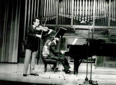 Manuel Villuendas y Josep Colom. Concierto Mozart: ciclo de sonatas para violín y piano