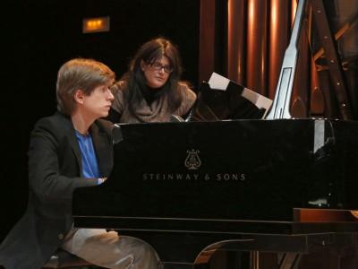 Nuria Núñez y Mario Prisuelos. Concierto Compositores Sub-35 - Aula de (Re)estrenos (86)