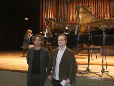 Jesús Navarro y Alberto Carretero. Concierto Compositores Sub-35 - Aula de (Re)estrenos (86)