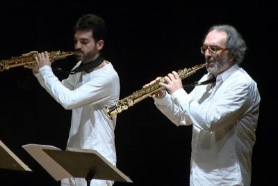 Sigma Project, Miguel Romero y Josetxo Silguero. Concierto Música, espacio, luz - Aula de (Re)Estrenos (88)