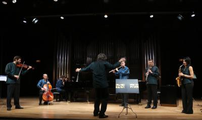 Grupo Cosmos 21 y Carlos P. Galán Bueno. Concierto Compositores Sub-35 - Aula de (Re)estrenos (92)