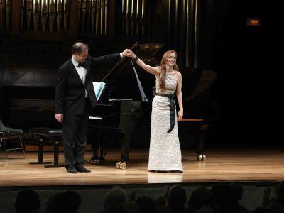Clara Mouriz y Julius Drake. Concierto Roberto Gerhard, la canción recuperada - Aula de (Re)estrenos 91