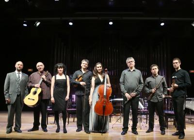 Ensemble Kuraia y Andrea Cazzaniga. Concierto Pop & rock en la vanguardia - Aula de (Re)estrenos (93)