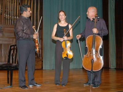 Trío de cuerda Esteban Salas. Concierto Tres tríos españoles