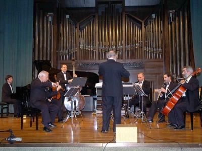LIM (Laboratorio de Interpretación Musical) y Jesús Villa Rojo. Concierto Medio siglo de música española (1950-2000)